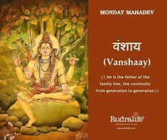 #rudralife #shiva #MondayMahadev #NamesOfShiva  #108NamesofShiva Lord Shiva Names, Lord Shiva Family, Hindu Rituals, Hindu Mantras, Shiva Linga, Shiva Shakti, Shiva Art, Hindu Art, Hanuman Chalisa