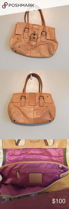 Coach purse! Only used a couple times - great condition. You need this for your next party. Coach Bags Shoulder Bags