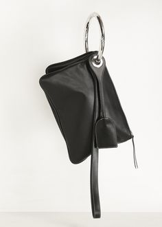 Maison Martin Margiela Clutches On A Key Ring (Black)