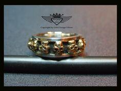 24 Karat Teilvergoldet.Gold, Gold Plating, 24 K, Vergoldet, Elektro Plating