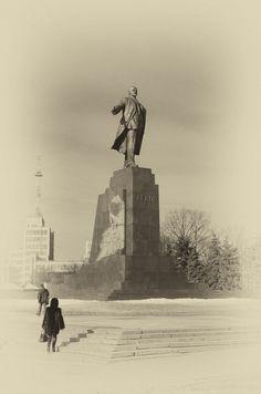 Lenin V. Liberty Square in Kharkov. 2013