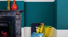 Nordsjö Idé & Design - Rum - Inspiration-färger, golv och tapeter för ditt vardagsrum