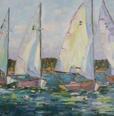 Sailing Regatta by Libby Smart