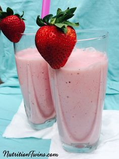 """Strawberry """"Milkshake""""