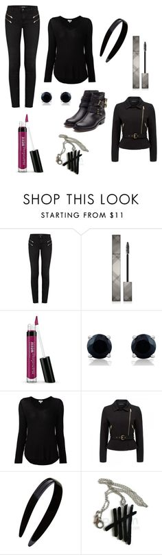 """""""Ready to go?"""" by cat-archer ❤ liked on Polyvore featuring J Brand, Burberry, Splendid, Forever New, France Luxe and Rupert Sanderson"""