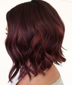 fall red hair color idea