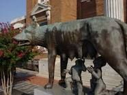 Downtown Rome, GA...Romulus & Remus