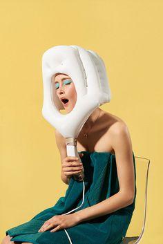 Mirka Laura Severa, SZ Magazine, Obscure Laws, styling Almut Vogel •