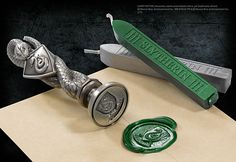 Harry Potter House Wax Seal Slytherin $30
