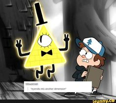 Bill Cipher eye rolls into another dimension, Gravity Falls Gravity Falls Funny, Gravity Falls Art, Low Gravity, Fall Memes, Reverse Falls, Bill Cipher, Billdip, Eye Roll, Force Of Evil