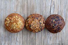 Muffins sin azúcar de trigo sarraceno Breakfast Desayunos, Pan Dulce, Alkaline Foods, Food N, Sugar Free, Healthy Recipes, Healthy Food, Gluten Free, Favorite Recipes