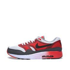 Nike Air Max 1 Comfort 2 (White, Black & Light Crimson)
