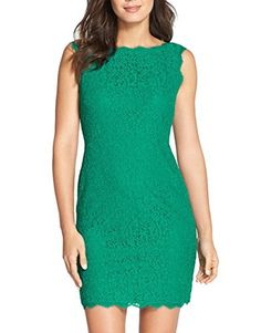 New Trending Formal Dresses: Berydress Sleevless Sheath Lace Dress for Women (US6, Green). Berydress Sleevless Sheath Lace Dress for Women (US6, Green)  Special Offer: $29.90  355 Reviews Berydress Women's Midi Dress Slimming Full Lace Party Cocktail Dress Note: Our dress size is Different than the US standard size, when you purchase the dress, please choose the size...
