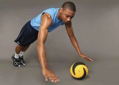 Core workout with Med Ball.  #fitness