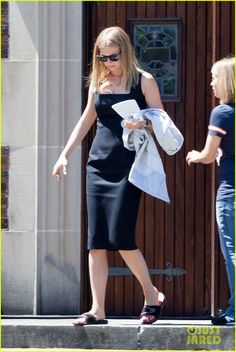 Emily VanCamp sur le tournage de Captain America : Civil War