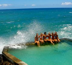 Black Rock Pool, Oahu, Hawaii