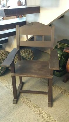 Antique Ipil Chair