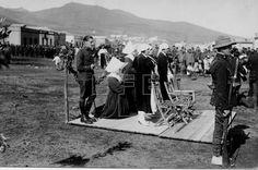 01/01/1922 EFE Data .- GUERRA DE AFRICA: [Nador]. Fiesta de Infantería y homenaje a la duquesa de la Victoria (c)