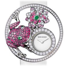 Boucheron Ajouree Grenouille watch. | The Jewellery Editor