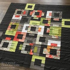 Quilt Pattern digital download PDF of BLOCKSTEP Quilt by