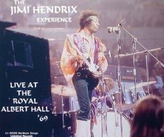 Jimi Hendrix Experience (Live At the Royal Albert Hall 1969) ~ Northern Songs Unlimited Records, http://www.amazon.com/dp/B0049VJWGO/ref=cm_sw_r_pi_dp_i1Y.sb053K6NQ