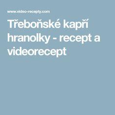 Třeboňské kapří hranolky - recept a videorecept