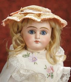 The Memory of All That - Marquis Antique Doll Auction: 240 Early German Bisque Child Doll with Closed Mouth