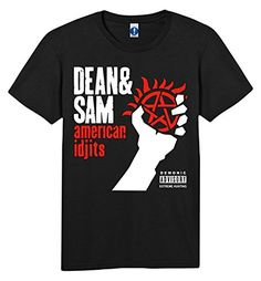 Awesome Tee Supernatural Winchester Carry on T-Shirts Supernatural Merchandise, Supernatural Outfits, Supernatural Memes, Spn Memes, Supernatural Wallpaper, Fandom Outfits, Film, Funny Shirts, Just In Case