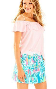 Zia Skirt In Beach and Bae: $68
