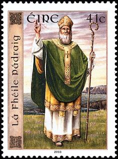 World Stamp Show-NY 2016 wishes you a happy #StPatrick'sDay. Top o' the mornin' to ye!