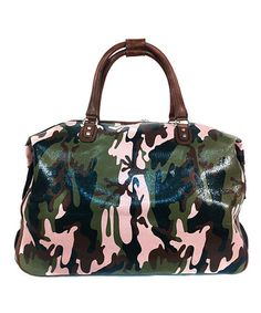 Pink Camouflage Weekender by Mellow World