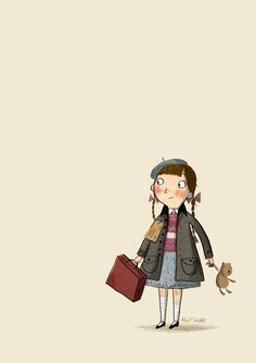 Alex T. Smith. My future child? If I have one...She shall be a book carrying, nerd-face, adorbs girl.