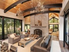 mountain contemporary condo interiors - Google Search