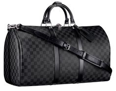Louis Vuitton damier graphite keepall