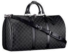 Louis Vuitton Damier Graphite Keepall