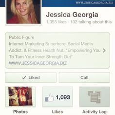 Help us serve 2,000 fans come LIKE us over here www.facebook.com/Jessicaageorgia where we are empowering entrepreneurs!