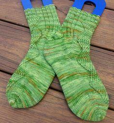 Ravelry: Zombie Prom Socks pattern by Katie Degroff