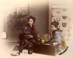 Girls at Home by Kusakabe Kimbei