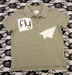 Paper Airplane polo