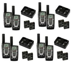NEW 4 PAIR COBRA CXR725 27 Mile 22 Channel FRSGMRS Walkie Talkie 2Way Radios ** Learn more by visiting the image link.Note:It is affiliate link to Amazon.