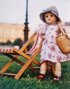 années 70 photo de poupée Bleuette par BillyBoy  par mdvanii, $80.00