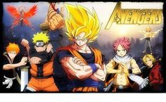the anime avengers - Google Search