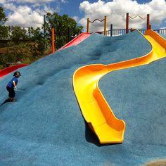 Grande Park, Springfield Lakes, playgrounds, playground, slides
