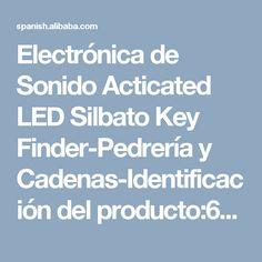Electrónica de Sonido Acticated LED Silbato Key Finder-Pedrería y Cadenas-Identificación del producto:60627477498-spanish.alibaba.com Key Finder, Led, Chains, Hipster Stuff