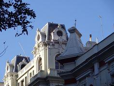 Thessaloniki's architecture, Gatenio - Floredin house, 1925, Tsimiski & Venizelou, Hellas Thessaloniki, My Town, Macedonia, Nymph, Deep Blue, Habitats, Greece, Buildings, The Past