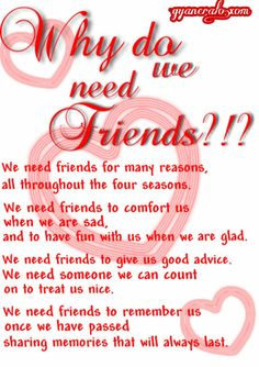 Happy Friendship Day Images, Friendship Day Wishes, True Friendship Quotes, Friend Friendship, What Is Best Friend, Friend Poems, Friend Quotes, You Poem, Need Friends