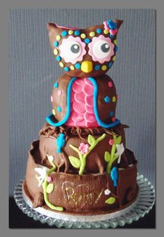 Owl — Birthday Cakes