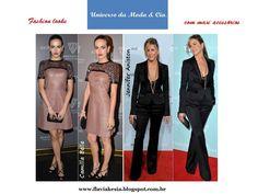 Inspiração de looks com maxi acessórios! Confira mais detalhes no blog Universo da Moda & Cia.