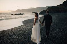 Destination wedding inspiration: Black Sands Beach, California | Image by India Earl