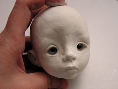 Linda Macario BJD Face-sculpting Tutorial - Polymer Clay Dolls Fairies Trolls Tutorials